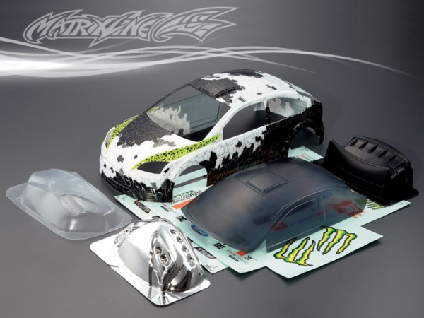 1:10 Body Ford Focus (painted+accesoirs)