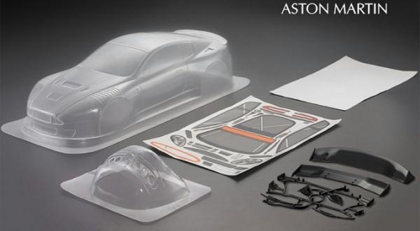 1:10 Body Aston Martin DBR9 Bodyshell ( clear+ Decals)