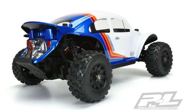 1:10 Body Baja VW Beetle Buggy (clear +decals)