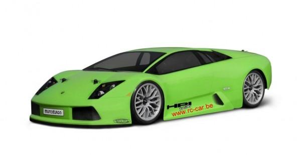 1:10 Body Lamborghini Murcielago large 230 MM clear + Decals (Wb 280mm)
