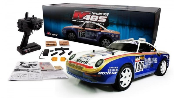 1/8 CARISMA M48S Porsche 959 Brushless RTR