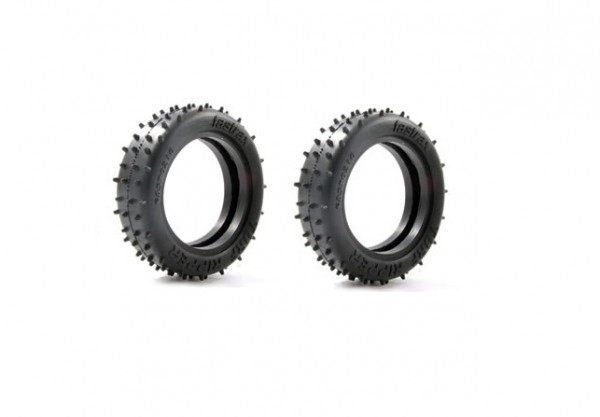 1:10 TURF RIPPER 2WD FRONT TYRE - T1 COMPOUND