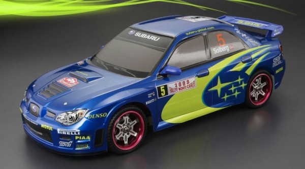 1:10 Body Subaru Impreza WRC Bodyshell ( clear+ Decals+ accessoirs)