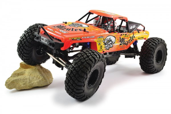 1:10 FTX MAULER 4X4 ROCK CRAWLER BRUSHED - READY-TO-RUN FTX5575R