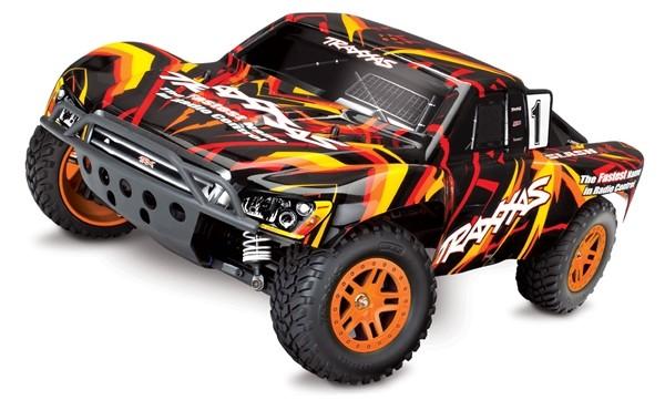 Traxxas Slash 4X4 XL-5 TQ (incl battery/charger), Orange