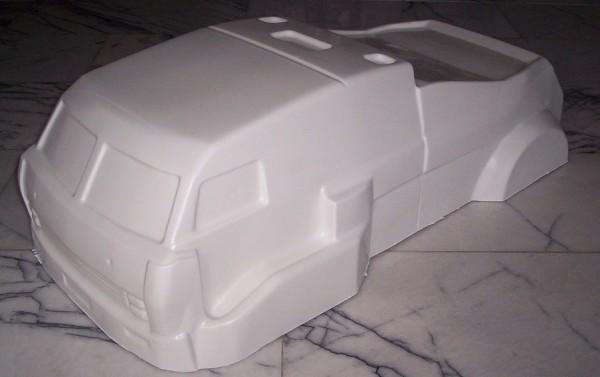 1:5 Body Dakar Truck für Fg Carson Smartech ReelyABS weis