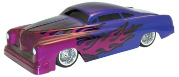 "1:10 Body 1951er Ford Mercury ""Gangstar\"" CUSTOM /200mm (clear+ decals)"