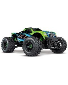 Traxxas Maxx 1/10 Scale 4WD Brushless Electric Monster Truck, VXL-4S, TQi - GRNX