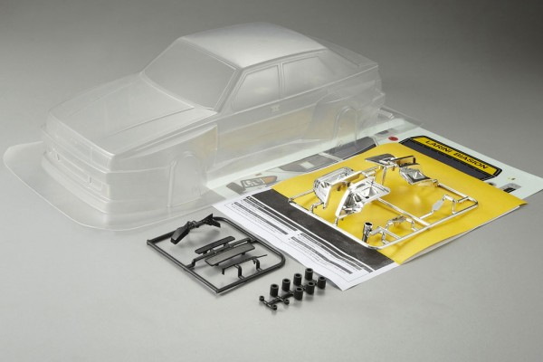 1:10 Body Alfa Romeo 75 Turbo ( clear+decals +accessoir)