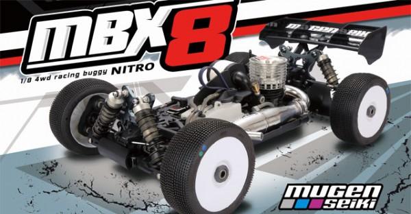 Mugen MBX8 1/8 NITRO BUGGY KIT