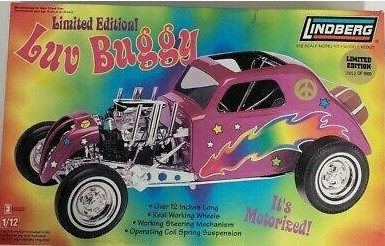 Lindberg 73046 Limited Edition Luv Buggy 1/12 Scale Model Kit