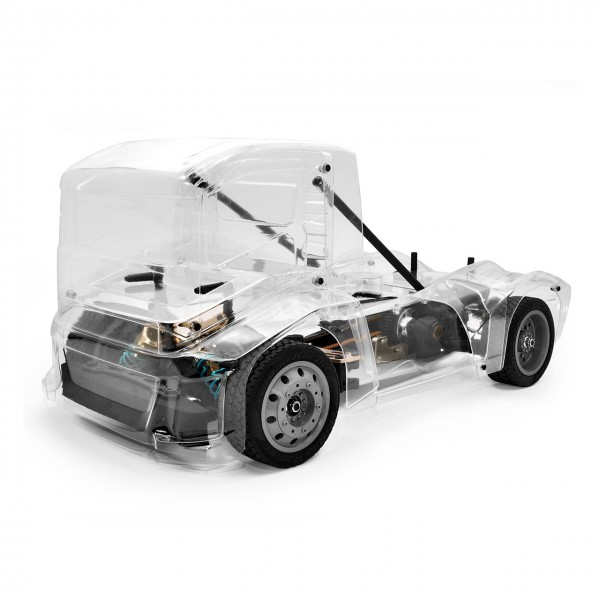 1:10 Hobao Hyper EPX Semi Truck On-Road ARR Clear Body