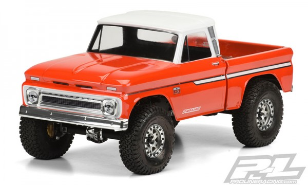 Proline Body 1966 Chevrolet C-10 (clear +decals)