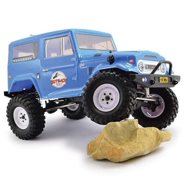 FTX OUTBACK 2 TRAIL 4WD 1:10 TRUCK RTR WITH Toyota BODYSHELL 5584