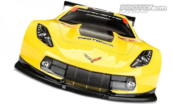 1:10 Body Chevrolet Corvette C7.R 190mm ( clear +decals )
