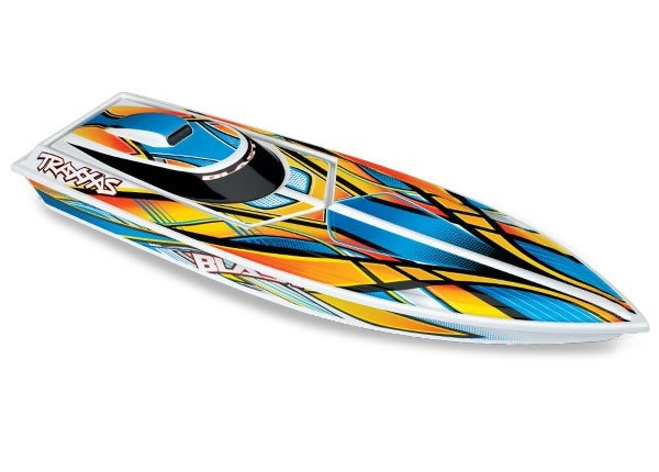 Traxxas Blast High Performance Boat TQ (incl battery/charger), Orange