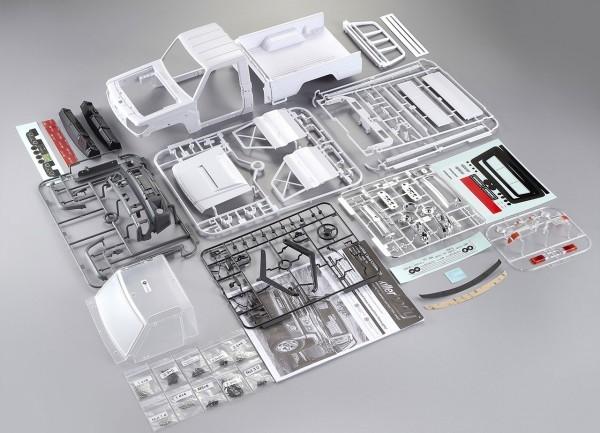 1:10 Killerbody Toyota Land Cruiser 70 Kunststoff Bausatz LC70