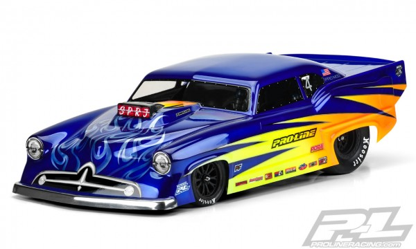 Super J Pro-Mod Clear Body for Slash 2wd Drag Car
