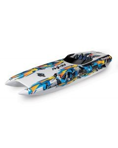 Traxxas DCB M41 Catamaran Race Boat TQi TSM, Orange, TRX57046-4O