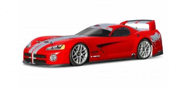 1:10 Body DODGE VIPER GTS 2003 190MM clear + Decals