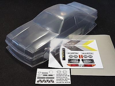 1:10 Body Opel Manta B GT/E ( Clear+ Decals )-