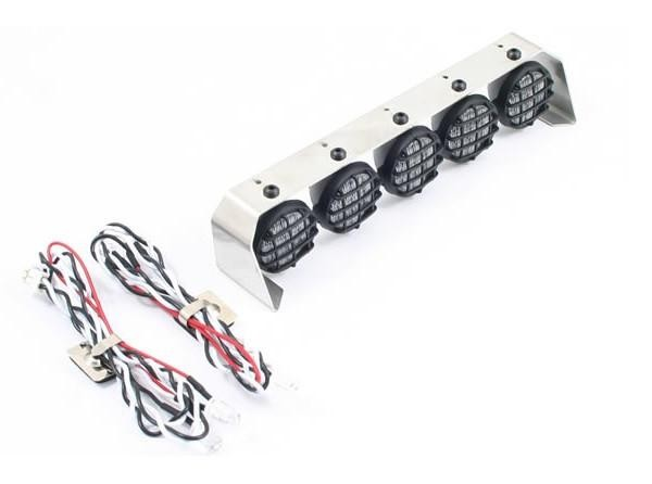 1:10 Crawler 5 Light Set with Alu Roll Bar