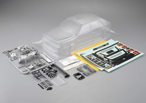 1:10 Body Lancia Delta HF Integrale ( clear+decals +accessoir)