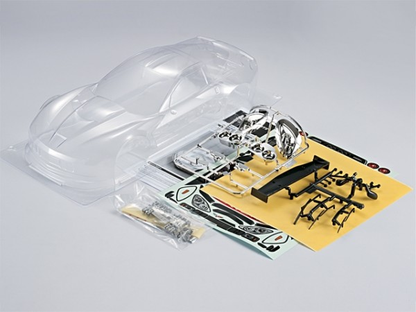 1:10 Body Corvette GT2 ( Clear +decals+Acesoirs)