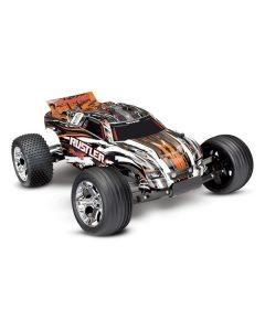 Traxxas Rustler XL-5 TQ (no battery/charger), Orange