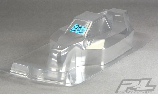 1:8 Proline Body Phantom for Mugen MBX 7 (clear +decals)