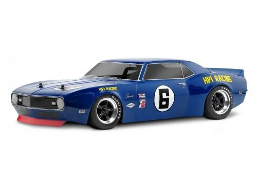 1:10 Body 1968er Chevrolet Camaro 200MM clear + Decals