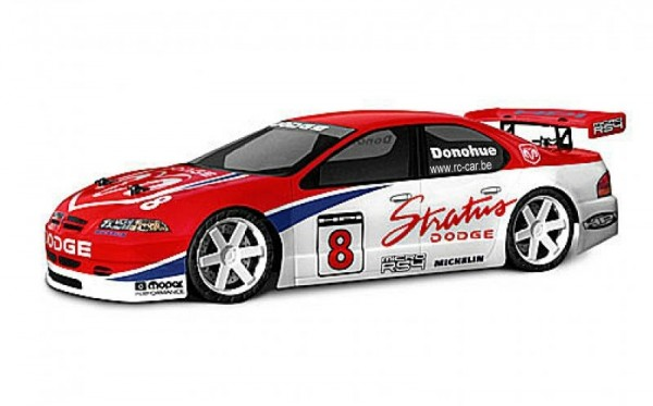1:18 Body Dodge Stratus Clear+ Decals wb 140mm