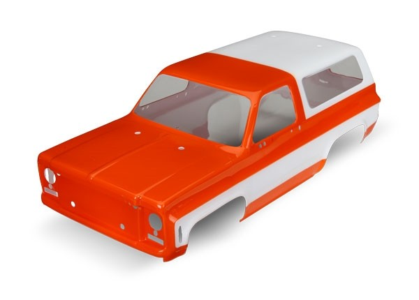 Body, Chevrolet Blazer (1979) (orange) (requires grille, side mirrors, door hand