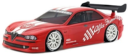 1:10 Body Alfa Romeo 156 200MM clear + Decals