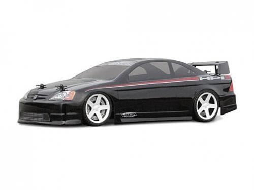 1:18 HPI Honda Civic Coupe Clear+ Decals