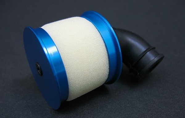 Alu Airfilter ( Lila / Pink )