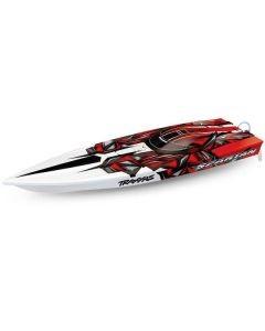 Traxxas Spartan TQi TSM, Red, TRX57076-4R