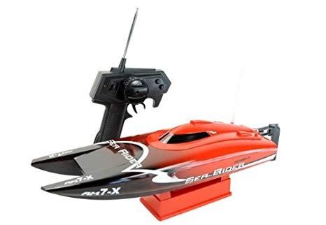 Amewi Sea Rider RC 2.4 GHz 30 Km/h Katamaran 42cm RTR Boot