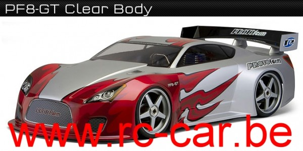 1:8 Body Rally Game PF8-GT Clear