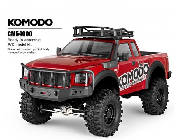 GMADE KOMODO GS01 1:10 TRUCK SCALE KIT gm54000 Crawler 4wd Trail