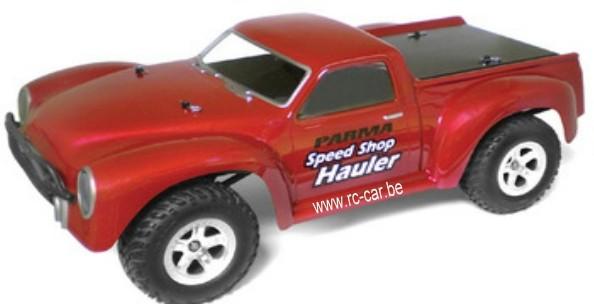 1:8 Body Speed Shop Hauler SC Truck (clear+decals)