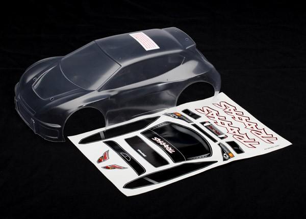Body, Traxxas Rally (Clear), TRX7311