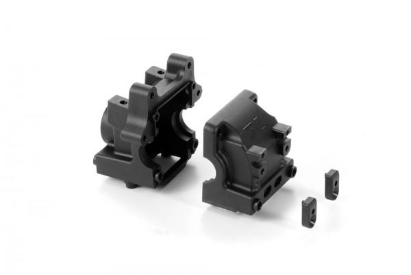 Xray XB8 Diff Bulkhead Block Set Front: Rear