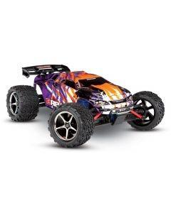 Traxxas E-Revo VXL 1/16 4x4 Brushless TQi TSM (incl battery/charger), Purple, TRX71076-3P
