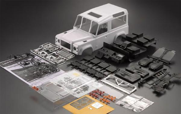 1:10 KILLERBODY Land Rover LR 90 HARD BODY SET