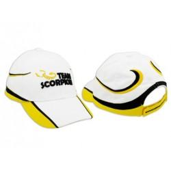 Scorpion Cap (White/Yellow)