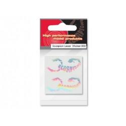 Scorpion Laser Decal Sticker 002
