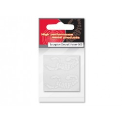 Scorpion Decal Sticker 003 (White)