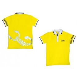 Scorpion Polo Shirt (Yellow-S)