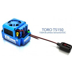 Fahrtenregler Toro TS 150A für 1/8 bis zu 6s LiPo